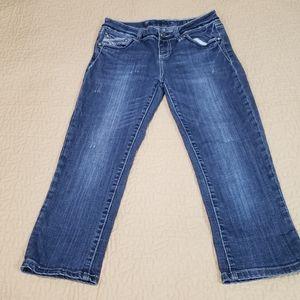 LA Idol cropped jeans size 7